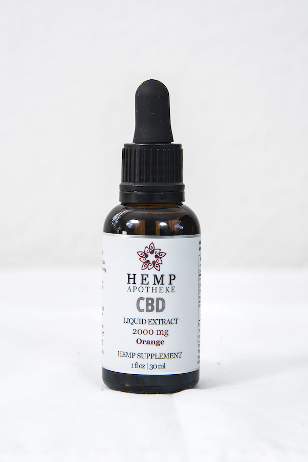 2000mg Broad Spectrum Orange CBD Tincture