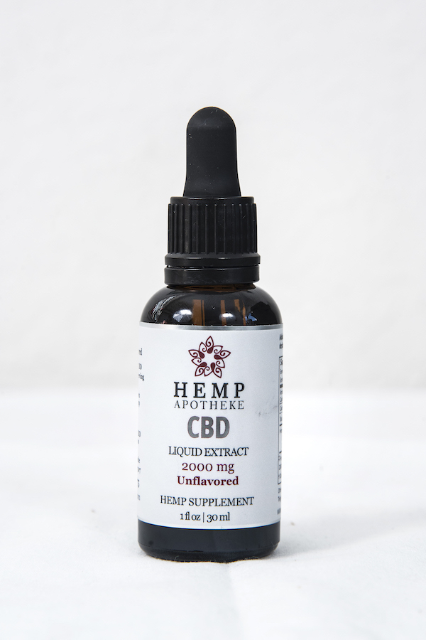 2000 mg Broad Spectrum Unflavored CBD