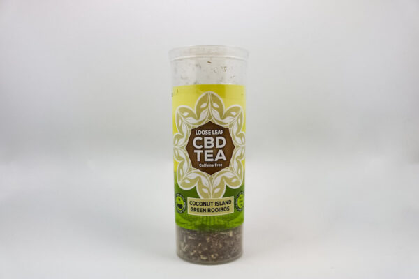 One Love CBD Tea – Coconut Island Green Rooibos