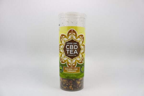 One Love CBD Tea Golden Chai Turmeric