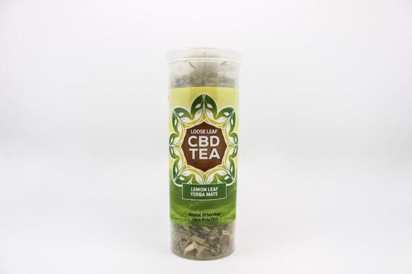 One Love CBD Tea Lemon Leaf Yerba Mate