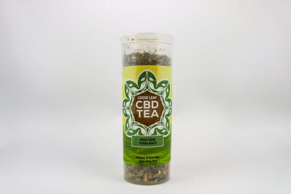 One Love CBD Tea Maui Sage Yerba Mate
