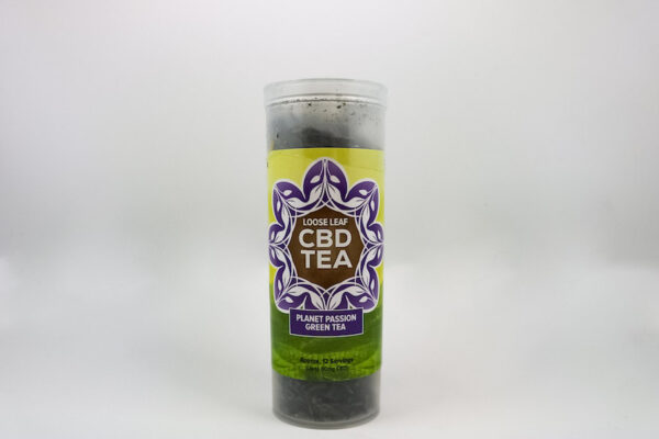One Love CBD Tea Planet Passion Green