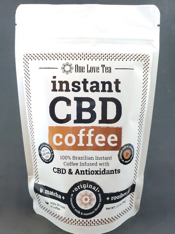One Love Instant CBD Coffee