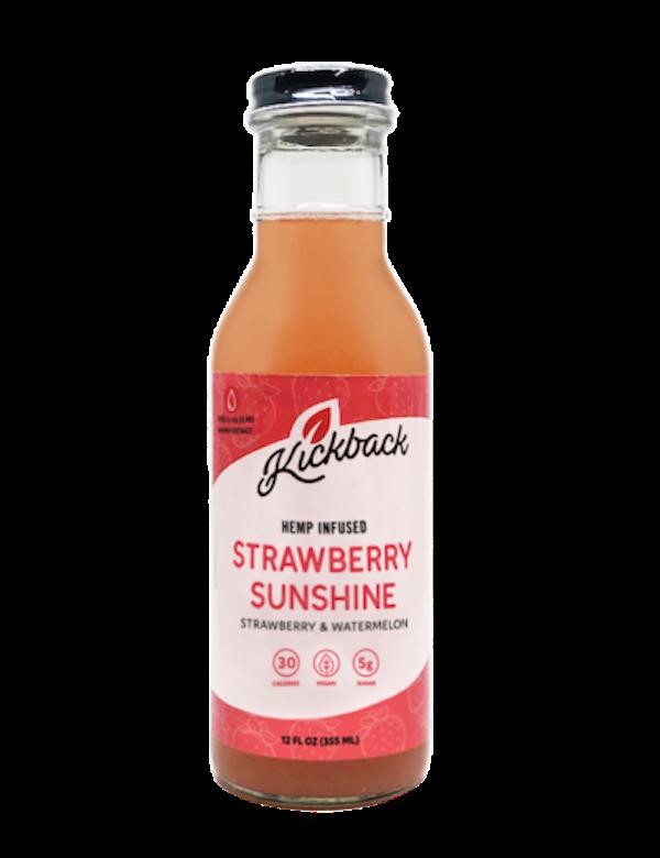 Kickback Nano Hemp Infused Lemonade Strawberry Sunshine