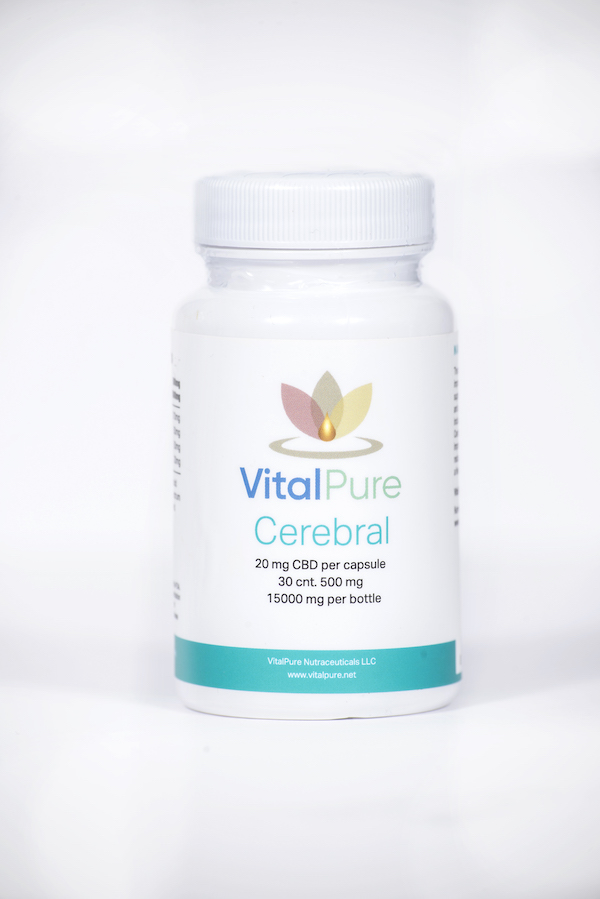 VitalPure Cerebral Nano CBD Capsules