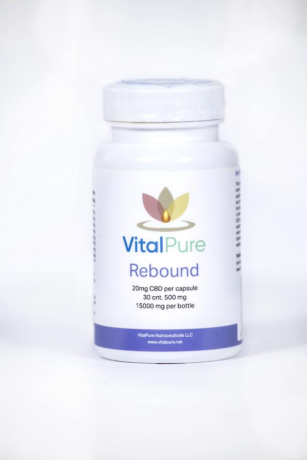 VitalPure Rebound Nano CBD Capsules