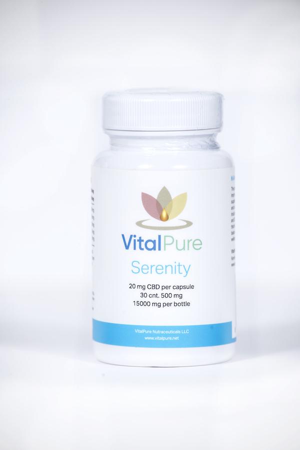 VitalPure Serenity Nano CBD Capsules