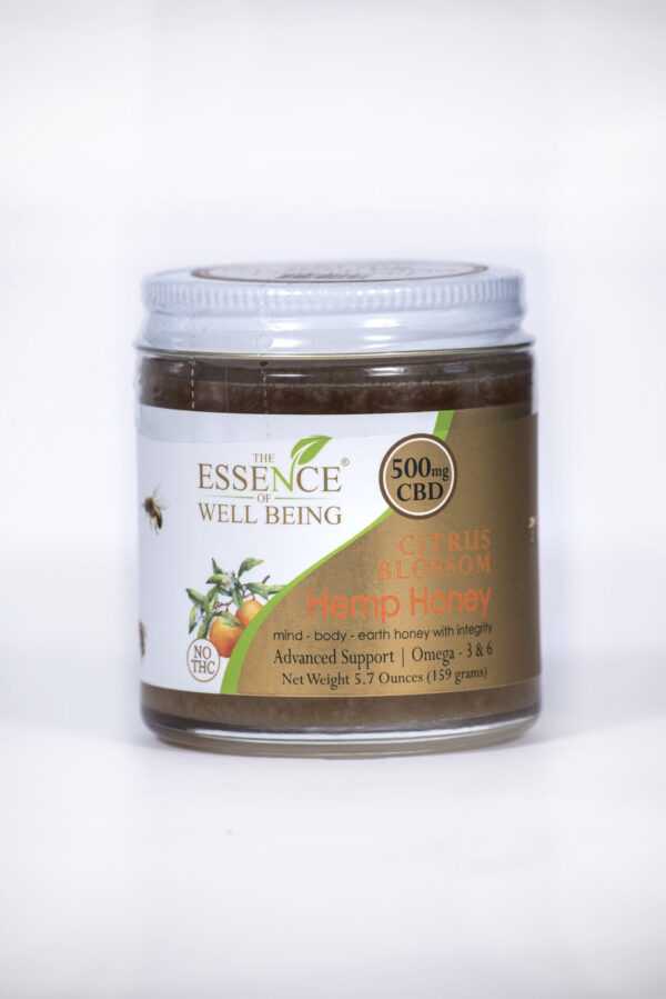 EWB Hemp Honey 500mg CBD
