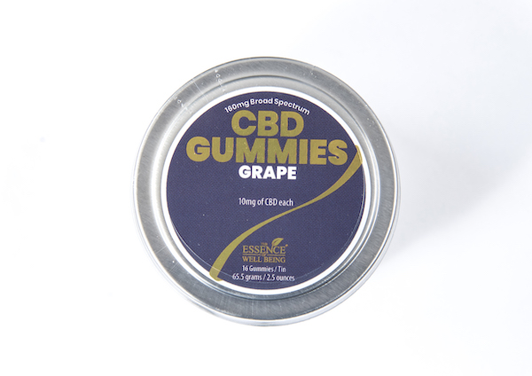 EWB Gummies Grape 160mg CBD