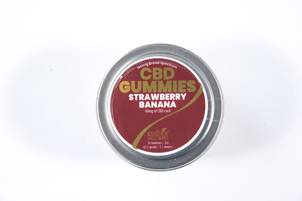 EWB Gummies Strawberry Banana 160mg CBD
