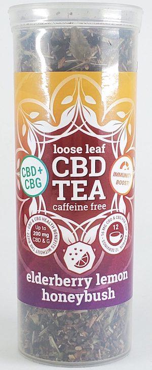 One Love CBD Tea - Elderberry Lemon Honeybush CBG