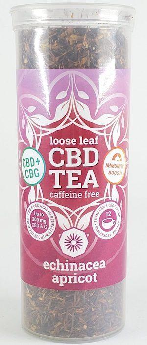 One Love CBD Tea - Echinacea Apricot Rooibos CBG