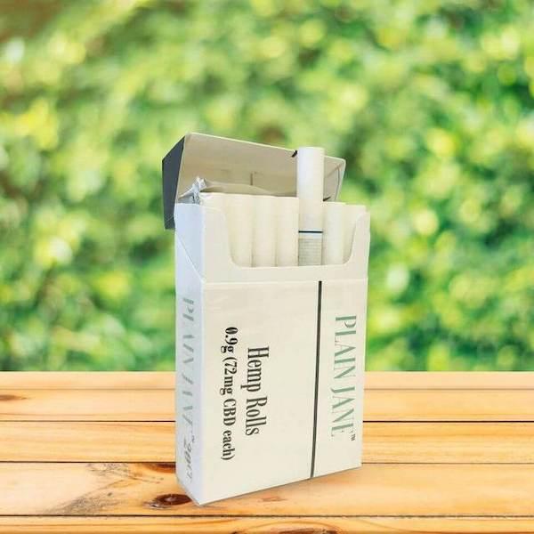Plain Jane - hemp cigarettes for sale